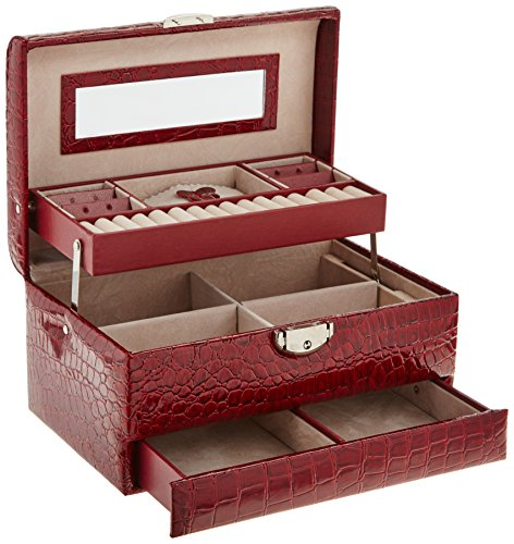 Home Locomotion Red Large Jewelry Case
