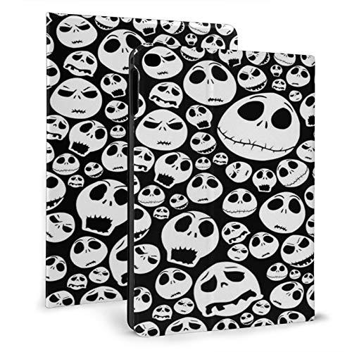 Adorable Halloween Skull Pattern Ipad Case mini4/5 & ipad air1/2 TPU Protective Stand Cover with Auto Sleep Wake Up Ipad for IPad 7.9'&9.7' Tablet
