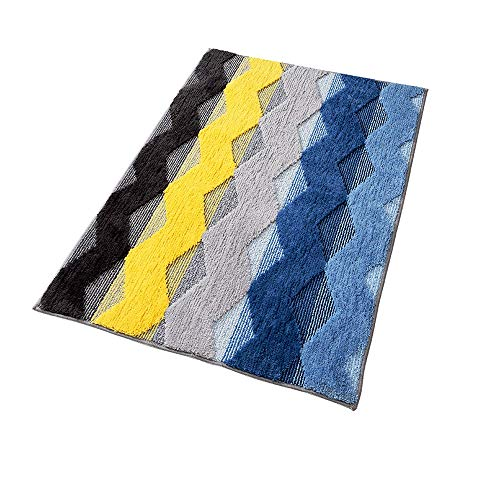 TGhosts Moderne einfache Vacuuming Griffige Badteppich Badematte, aus Mikrofaser Polyester, 80 * 100cm