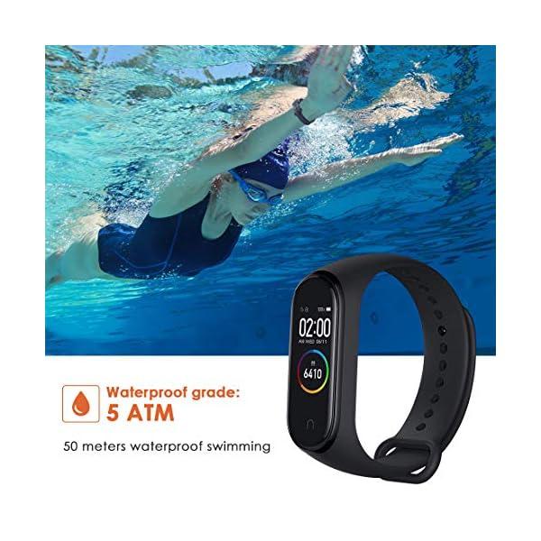 superpow Pulsera Actividad para Niños, Deportivo Smartwatch con Podómetros, Monitor de Frecuencia Cardíaca y Sueño… 8