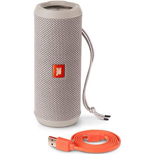 JBL JBLFLIP3GRAY Flip 3 Splashproof Portable Bluetooth Speaker, Gray