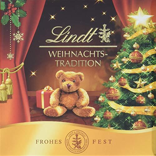 Lindt & Sprüngli Weihnachts-Tradition Kleines Geschenk, 4er Pack (4 x 43 g)
