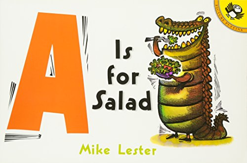 A is for Salad (Picture Puffins)