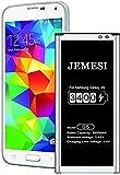 JEMESI Batería para Samsung Galaxy S5, 3400mAh de Iones de Litio mejorados Compatible con Original Samsung Galaxy S5 batería(1 años de garantía)