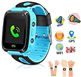 SeTracker Kids Micro Sim Card Support Smart Phone Control Smartwatch with GPS, WiFi