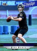 2019 Panini Prestige Xtra Points Green #272 Trace McSorley Baltimore Ravens NFL Football Trading Card