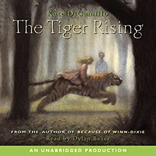 The Tiger Rising audiobook cover art