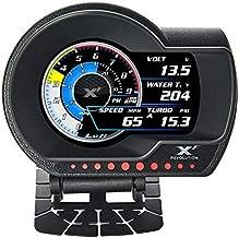 Lufi-Xf Multifunctional Obd2 Gauge, Heads Up Display, Obd2 Scanning Tool Combination Meter