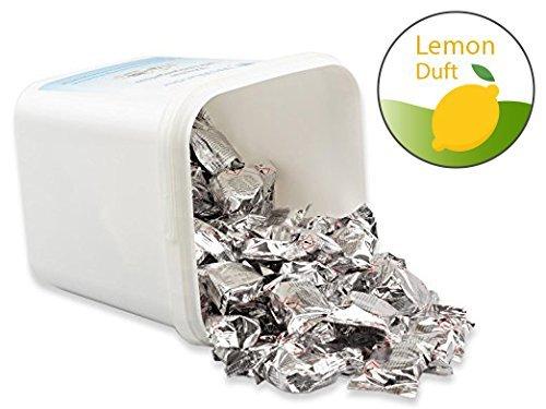 WcWunder 100 St 3-Phasen - Reinigungstabs im Vorratseimer (Lemon)