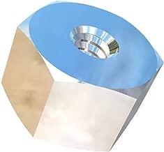 Allied Titanium 0093655, (Pack of 10) #6-32 UNC Titanium Hex Nut, Grade 2 (CP)