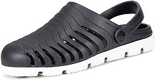 30f880f8 Zuecos Hombre Playa Piscina Sanitarios Enfermera Goma Verano Zapatillas  Antideslizante Respirable Zapatos Zapatillas Sandalias Chanclas de