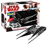 Revell Star Wars Build & Play Kylo Ren's Tie Fighter, con Luces y Sonidos, Escala 1:70 (6760)(06760) (Revell06760)