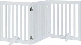 Best wooden dog gate with door Reviews