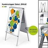 Hochwertiger Plakatständer DIN A2   ✓ Kundenstopper   ✓ Werbetafel   ✓ Gehwegaufsteller...