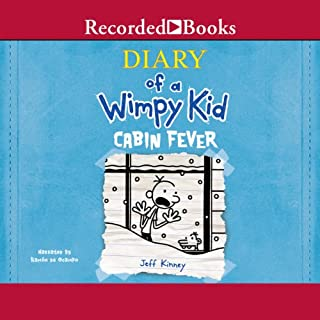 Diary of a Wimpy Kid: Cabin Fever audiobook cover art