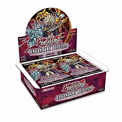 Yugioh Legendary Duelists TCG Game: Rage of Ra Booster Box - 36 Packs of 5 Cards Each! from Konami