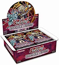 Yugioh Legendary Duelists TCG Game: Rage of Ra Booster Box - 36 Packs of 5 Cards Each!