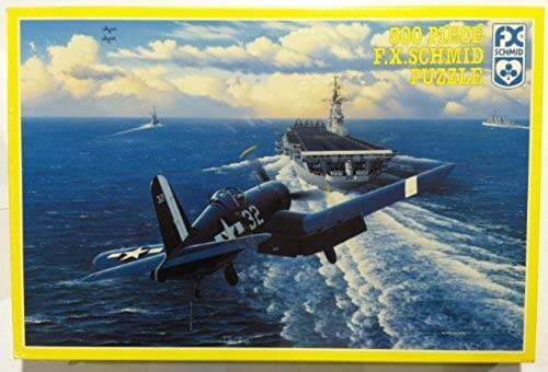 Approach to the Intrepid - 500 Piece Puzzle by FX Schmid