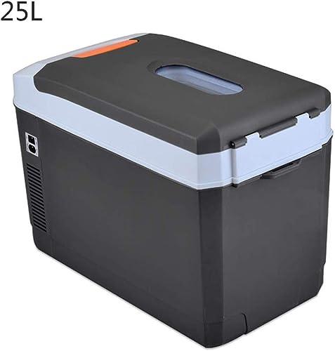 Kievy 25 litres Boîte Isotherme électrique Portable Boîte Isotherme Thermoélectrique Conserver Et Refroidir pour La Voiture