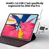 USB Type C ハブ HyperDrive Ipad pro usb c ハブ ipad Proのために生まれたUSB C ハブ 4K HDMI出力 Type-C(PD)ポート PD給電 USB 3.O ポート ハイスピード 高速データ転送 Micro SD/SDカードリーダー 3.5mm Audio Jackポートアルミニウムコンパクト薄型 持ち運びに便利 iPad Pro 2018 2019 2020対応(グレー)(史上最低価格)
