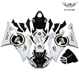 NT FAIRING Lucky Strike Injection Mold Fairing Fit for Yamaha 2008-2016 YZF R6 Painted Kit ABS Plastic Motorcycle Bodywork Aftermarket 2009 2010 2011 2012 2013 2014 2015 08R6