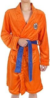 DDXY-Men's Boy's Anime Dragon Ball Son Goku Cosplay Dressing Gown Robe Nightwear