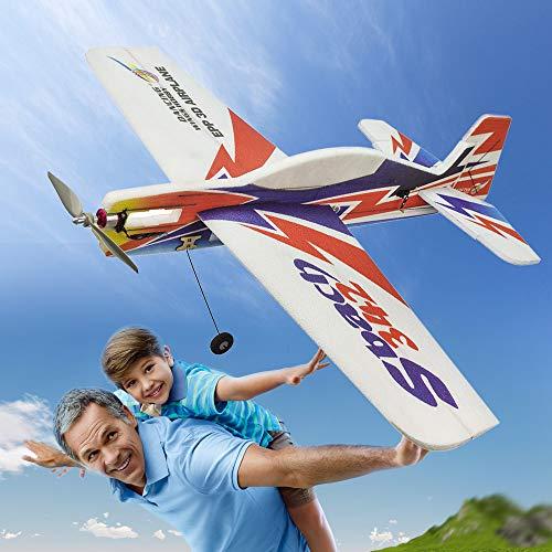 pedkit Modelo de avión EPP, E1804 EPP RC Airplane 1000mm eléctrico SBACH342 RC Aircraft sin ensamblar PNP versión DIY Flying Model