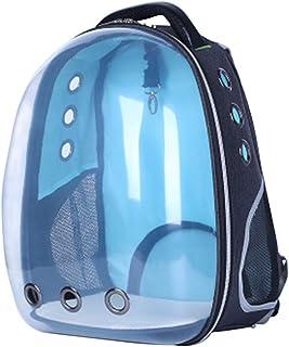 Lazder - Mochila Transparente para Transportar Mascotas (33 x 28 x 44 cm)
