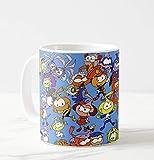 PIL Idea Regalo Tazza Personalizzata Tazza Personalizzata Mug SNORKY SNORKS No PUFFI Cartone Anni 80-1 - Idea Regalo