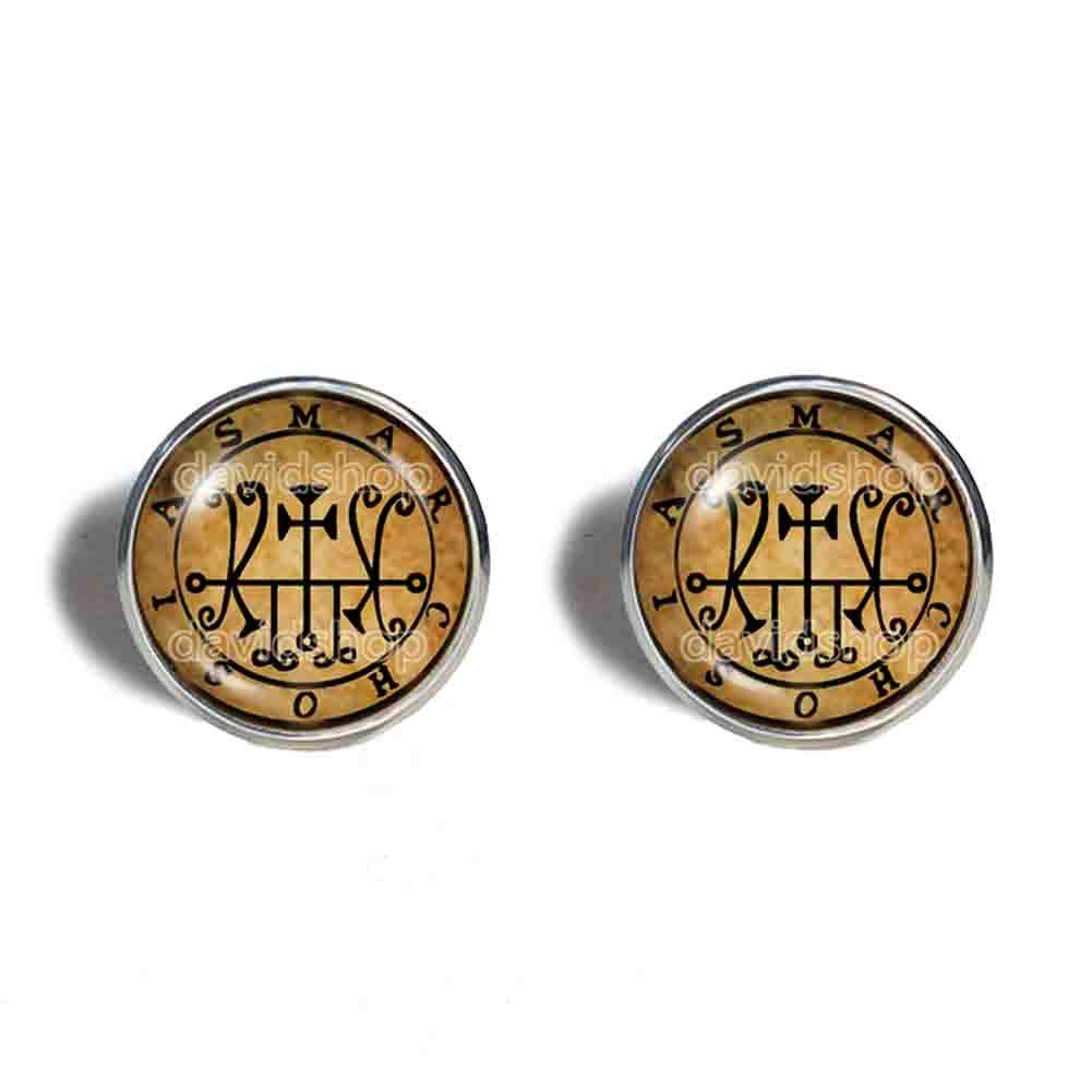 Seal Sigil Of Marchosias Earrings Ear Special price Fashion Lesse Cuff OFFer Jewelry