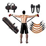 YNXing Corde de Musculation pour la Boxe, Le Basket-Ball, L'escrime, Corde de Tension Bleue, Corde de Tension, Corde de Tension, équipement de Conditionnement Physique (Orange)