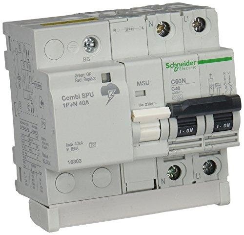 Schneider Electric 16303 Combi, SPU 1P+N 40A
