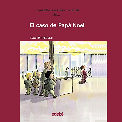 El Caso De Papá Noel [The Case of Santa Claus] audiobook cover art