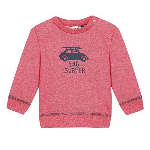 3 pommes Baby-Jungen 3q15033 Sweat Ml Sweatshirt, Orange (Papaye 764), 3-6 Monate (Herstellergröße: 3/6M)
