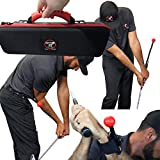 TOTAL GOLF TRAINER 3.0 Kit – Golf Swing Training Aid - The TGT 3.0 Kit Teaches and Corrects Golf Swing, Posture and Hip Rotation, Wrist, Elbow and Arm Position