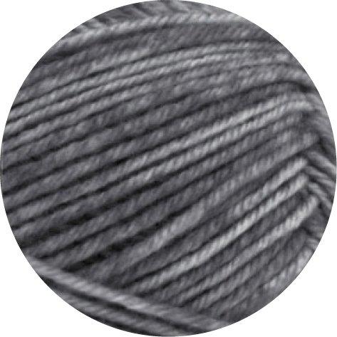LANA GROSSA Meilenweit 50g Cashmere, 7 - Grau/Weiß