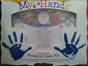 My Hands Complete Handprint Poem Kit by Frances Meyer Inc.