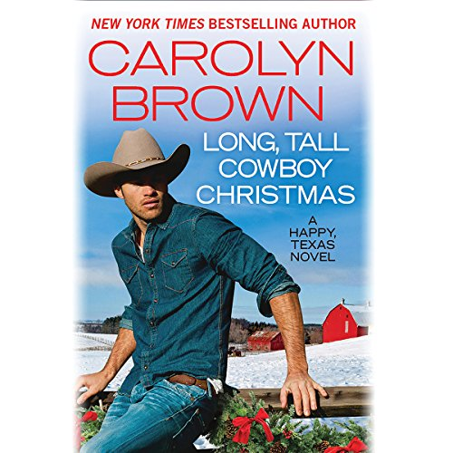 Long, Tall Cowboy Christmas audiobook cover art