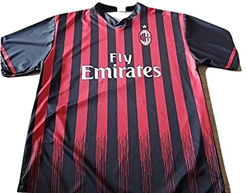 Milan AC Maglia Replica Ufficiale Neutra Senza Nome e Numero Anno 2016-2017-Taglia M