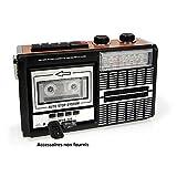 Ricatech PR85 - Lecteur cassette portable et enregistreur avec haut-parleur intégré...