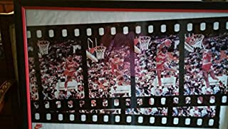 michael jordan freeze frame poster