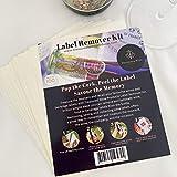 Tesorado Kit de removedor de etiquetas de vino – 100