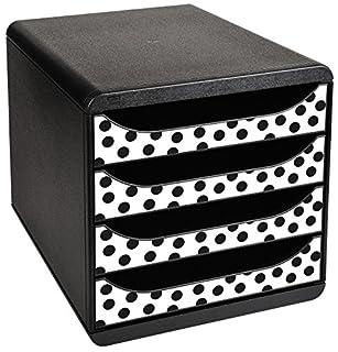 Exacompta Punto Motif Big-Box Cajón Set - Negro (B010V0Q05W) | Amazon price tracker / tracking, Amazon price history charts, Amazon price watches, Amazon price drop alerts