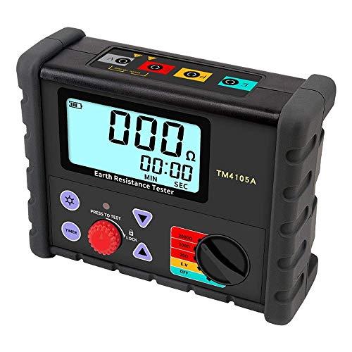 DXX-HR Probador digital de resistencia física TM4105A medición de resistencia al suelo e instrumento con bolsa