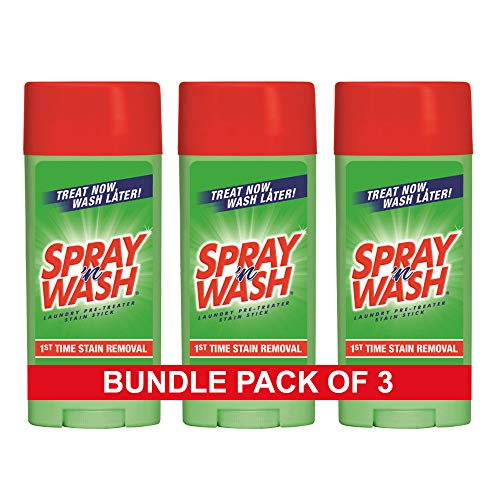 Spray  n Wash Pre-Treat Laundry Stain Stick  3 Oz (Pack Of 3)