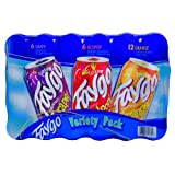 Faygo Variety Soda, Grape Red Pop Orange, 12 Ounce (24 Cans)