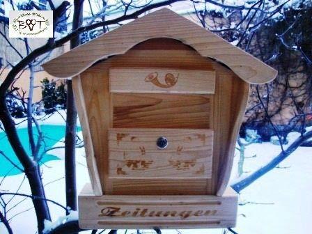 Schöner kleiner Briefkasten aus Holz