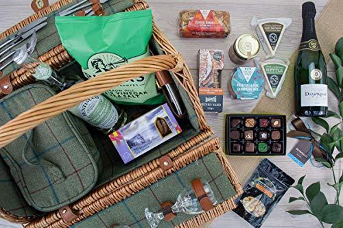 Middleton Picnic Hamper - Luxury Picnic Hamper. Handmade in Northumberland with artisan produce.