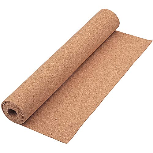 Quartet Cork Rolls, Strips, 24 x 48 inches, Corkboard, Bulletin Board, Natural, 1 Roll (103)