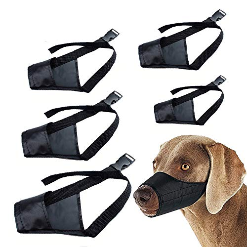 Dog Muzzles Suit for Small Medium Large Extra Large Dogs to Prevent Barking Biting and Chewing...